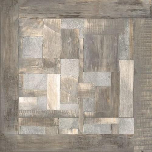 Эдда Плитка напольная на сером коричневая ПГ3ЭД704 / TFU03EDD704 41,8х41,8