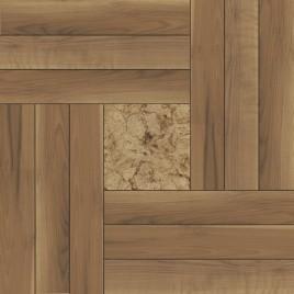 Рондо Плитка напольная на коричневом коричневая ПГ3РО424 41,8х41,8