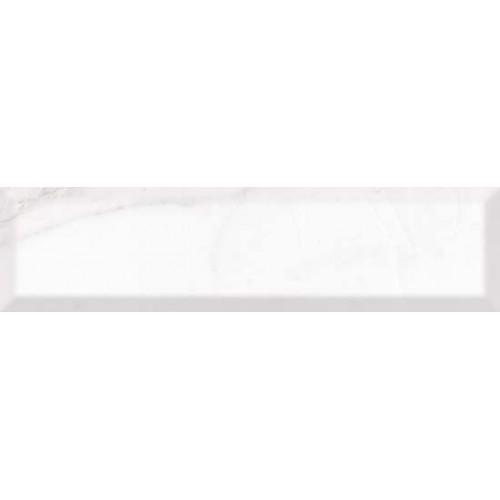 Carrara White bevel плитка настенная 7,5x30