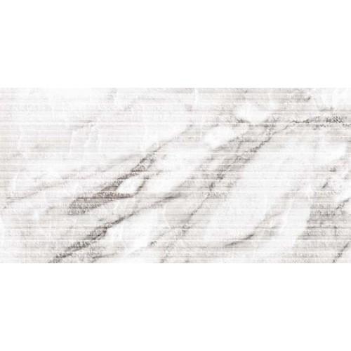 Carrara White Stripes плитка настенная структ. 30x60
