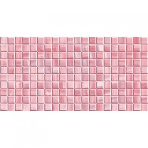 Каролина розовая 25х50 (1,25м2/67,5м2) плитка настенная