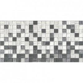 Мегаполис серая мозайка 25х50 (1,25м2/67,5м2) плитка настенная