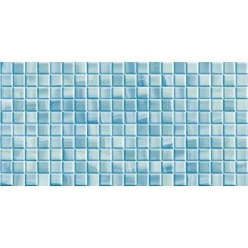 Плитка настенная Калипсо темная голубая мозайка