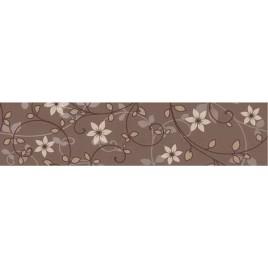 Modesta Бордюр коричневый (C-ME1C111) 6х25