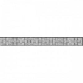 Спецэлемент стеклянный серебристый (GL7H371) 4х35