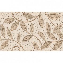 Плитка настенная Travertine mosaic коричневый декор