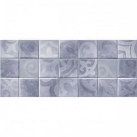 Folk Плитка настенная голубая 02 25х60