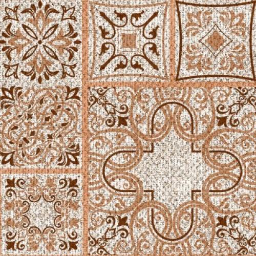 Керамогранит Bristol brown PG 01 45х45 коричневый
