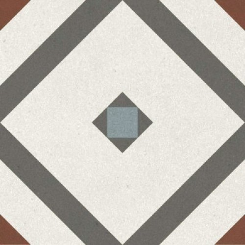 Керамогранит Longo multi многоцветный 01 20х20 (0,88м2/84,48м2