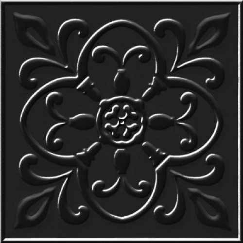 Керамогранит Moretti black черный PG 02 20х20