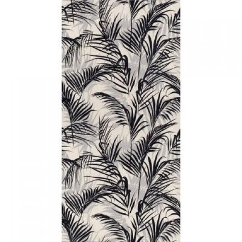 11134R плитка настенная Тропикаль листья черный