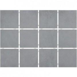 1271 Плитка настенная Амальфи серая полотно 30х40 из 12 частей