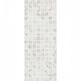 Алькала Декор белый мозаичный MM7203 20х50