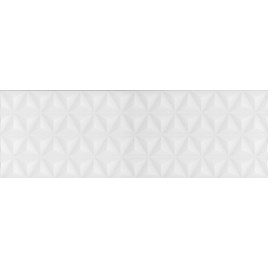 Диагональ белый структура обрезной 12119R 25х75
