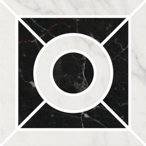 ID93 Декор Фрагонар наборный белый