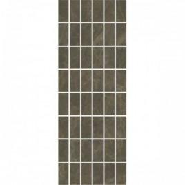 Лирия Декор коричневый мозаичный MM15139 15х40