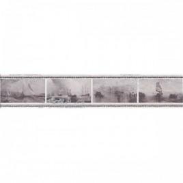 Ньюпорт Бордюр Корабли фиолетовый STG\C209\15010 40х7,2