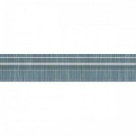 Пальмовый лес Бордюр Багет синий BLE012 25x5,5