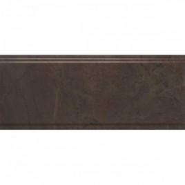 Версаль Бордюр коричневый обрезной BDA008R 30х12