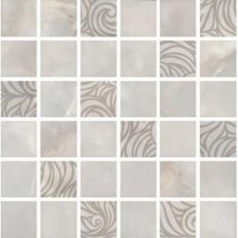 Вирджилиано Декор мозаичный серый MM11101 30х30