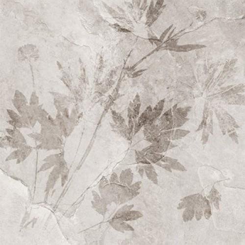 Керамогранит Денвер 1Д светло-серый декор