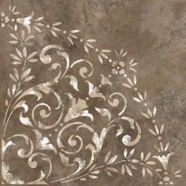 Керамогранит Монреаль 2Д коричневый (розон)