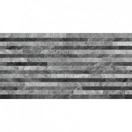 Керамогранит Монтана 1Д серые полоски