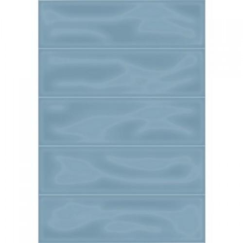 Плитка настенная Метро 2Т синий