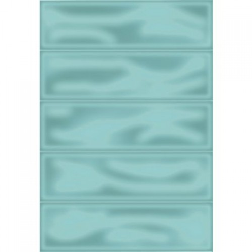 Плитка настенная Метро 4Т зеленый