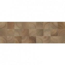 Плитка настенная Шиен 4Д коричневый