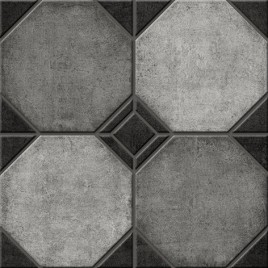 Шале 1 Керамогранит серый 40х40