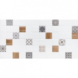 Декор 1 Астрид белый (1041-0238)