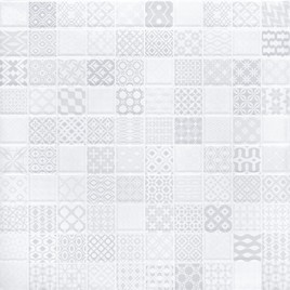 Ингрид Арт-мозаика светлая 5032-0274 30х30