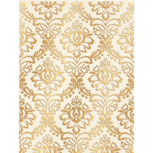 Катар декор белый 1634-0090 25х33