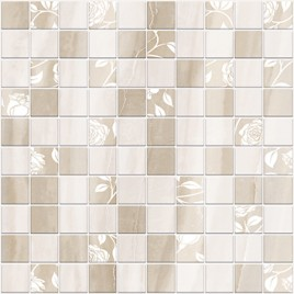 Tender Marble Декор мозаика бежевый 1932-0010 30х30