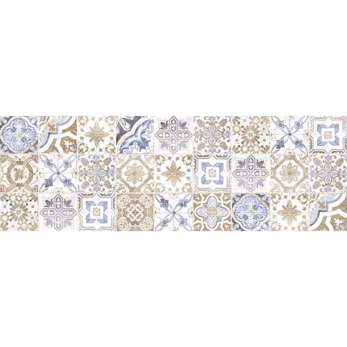 Tender Marble Декор пэчворк голубой 1064-0172 20х60