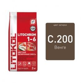 Litochrom 1-6 C.200 венге 2kg Al.bag