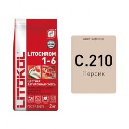 Litochrom 1-6 C.210 персик 2kg Al.bag