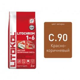 Litochrom 1-6 C.90 кр.-коричн. 2kg Al.bag