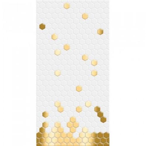 Декоративная вставка Portobello белый  (04-01-1-10-06-00-1075-2 50х25 (5шт)