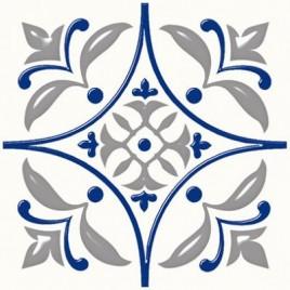 Плитка напольная Сиди-Бу-Саид синий (01-10-1-15-00-65-1000)