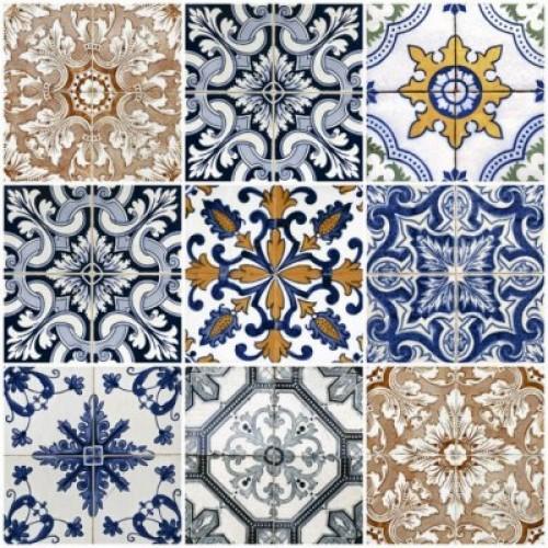 Плитка настенная (мозайка)