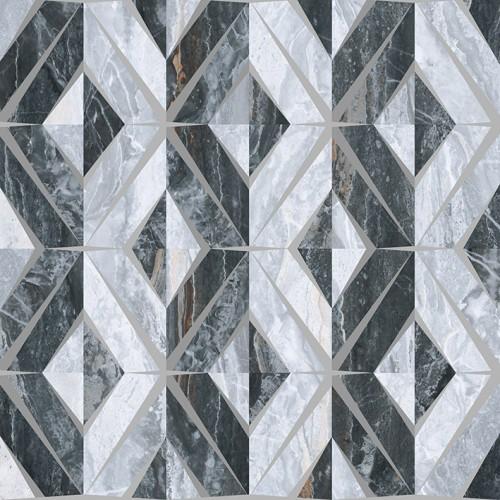 Bergamo Декор Геометрический Микс Холодная гамма K946630LPR 60x60