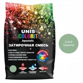 ЮНИС Color затирка зеленая/изумрудная, 2kg